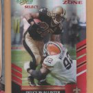2007 Score Select Red Zone Deuce McAllister Saints /30