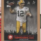 2009 Topps Toppstown Aaron Rodgers Packers
