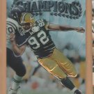1997 Topps Finest Sliver Embossed Reggie White Packers