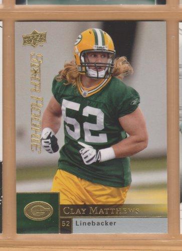 2009 Upper Deck Rookie Clay Matthews RC Packers