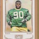 2009 Topps Mayo Rookie B.J. Raji  RC Packers BJ
