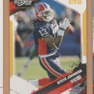 2009 Score Inscriptions Gold Zone Steve Johnson Bills /50