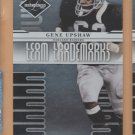 2008 Leaf Limited Team Trademarks Gene Upshaw Raiders /999