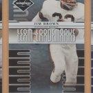 2008 Leaf Limited Team Trademarks Jim Brown Browns /999
