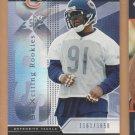 2004 UD SPX Rookie Tommie Harris Bears  /1650 RC