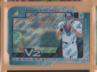 1997 Pinnacle Inscriptions V2 Mark Brunell Jaguars
