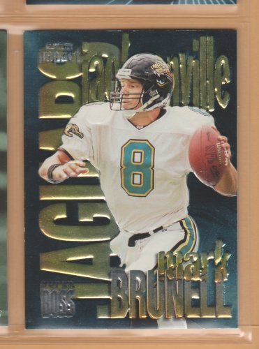 1997 Skybox Impact Super Boss Mark Brunell Jaguars