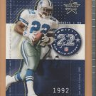2002 Leaf Rookies & Stars Run With History Emmitt Smith Cowboys /1713