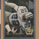 1999 UD Century Legends Epic Milestones Emmitt Smith Cowboys