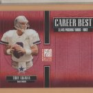 2005 Donruss Elite Career Best Red Troy Aikman Cowboys /1000