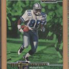 1997 UD Collector's Choice Turf Champions Die-Cut Michael Irvin Cowboys