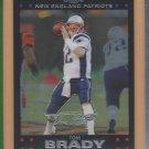 2007 Topps Chrome Tom Brady Patriots