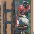 1998 Pacific Paramount Pro Bowl Die Cuts Shannon Sharpe Broncos