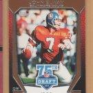 2010 Topps 75th Draft Anniversary John Elway Broncos