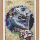 2005 Upper Deck Football Heroes #39 Barry Sanders Lions