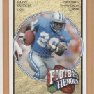2005 Upper Deck Football Heroes #41 Barry Sanders Lions