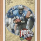 2005 Upper Deck Football Heroes #42 Barry Sanders Lions