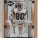 2008 Leaf Limited Spotlight Legend Bronze Cris Collinsworth Bengals  /125