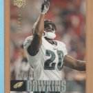 2006 Upper Deck UD Exclusives Gold Brian Dawkins Eagles /100