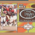 1998 Pacific Team Checklist Jerry Rice 49ers