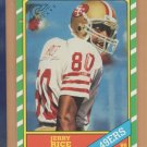 2002 Topps Gallery Heritage Rookie Reprint Jerry Rice 49ers