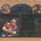 1997 Pacific Invincible Moments in Time Steve Young 49ers