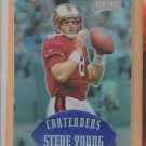 1997 Playoff Contenders Blue Steve Young 49ers
