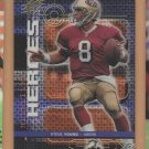 1999 UD SPx Highlight Heroes Steve Young 49ers