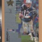 2007 Leaf Rookies & Stars Longevity Elements SP Tom Brady Patriots