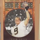 2010 Topps Super Bowl Ring of Honor Drew Brees Saints