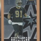 2004 Topps Finest Rookie Will Smith RC Saints