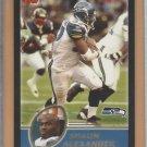 2003 Topps Black Border Shaun Alexander Seahawks  /150