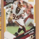 2009 Score Inscriptions Gold Zone Santana Moss Redskins /50