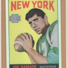 2001 Topps Archives Reserve Refractor Joe Namath 1965 Rookie Reprint Jets