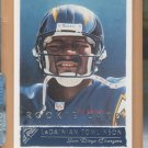 2001 Topps Gallery LaDainian Tomlinson Chargers RC