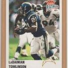 2003 Fleer Platinum Finish LaDainian Tomlinson Chargers /100