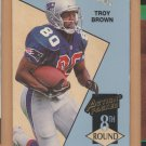 1993 Action Packed Rookie Troy Brown RC Patriots