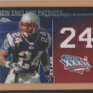 2008 Topps Chrome NFL Dynasties Ty Law Patriots