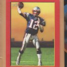 2005 Topps Turkey Red Border Red Tom Brady Patriots