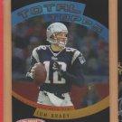 2005 Topps Total Topps Tom Brady Patriots
