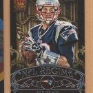 2012 Crown Royale NFL Regime Tom Brady Patriots