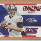 2015 Score Franchise Red Joe Flacco Ravens