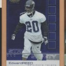 2002 Topps Finest Edward Ed Reed Ravens RC