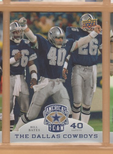 2009 Upper Deck America's Team #22 Bill Bates Cowboys