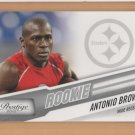 2010 Prestige Rookie Antonio Brown Steelers RC