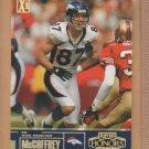 2003 Playoff Honors X's Gold Ed McCaffrey Broncos /250