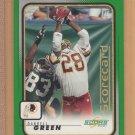 2001 Score Scorecard Darrell Green Redskins 7/281