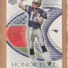 2003 Upper Deck UD Honor Roll Tom Brady Patriots