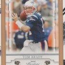 2008 Playoff Prestige Tom Brady Patriots