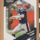 2009 Score Inscriptions Tom Brady Patriots